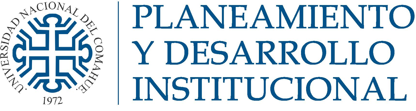 Secretaría de Planeamiento y Desarrollo Institucional Logo